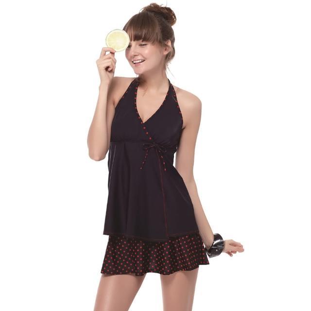 【好物推薦】MOMO購物網【SARBIS】戲水/沙灘/踏浪大女二件式泳裝(附泳帽B92645)評價好嗎momo 折價