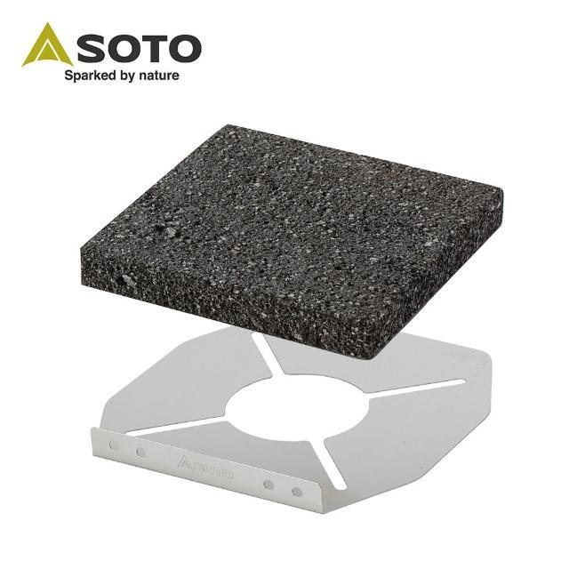 【網購】MOMO購物網【SOTO】岩燒烤盤 ST-3102(烤盤)效果momo購物網台