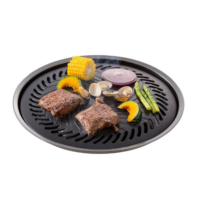【好物分享】MOMO購物網【妙管家】和風燒烤盤-大 HKGP-33(烤盤)推薦富邦mo