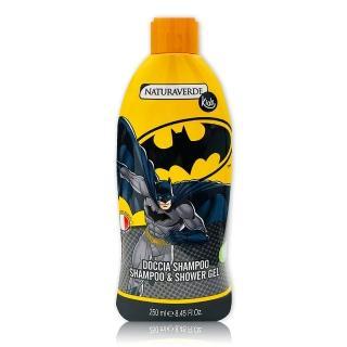【義大利進口 Batman】有機植萃洗髮沐浴乳(250ml)