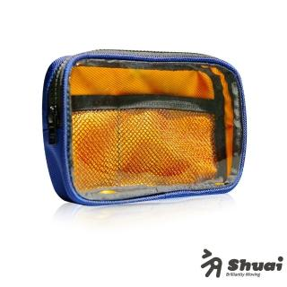 【Shuai】P1 Series Tough 超撞色萬用方包(藍/橘)