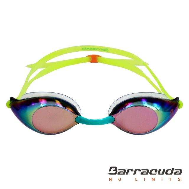 【勸敗】MOMO購物網【美國巴洛酷達Barracuda】成人競技電鍍防霧泳鏡-LIQUID WAVE-(#91510)推薦momo購物 運費