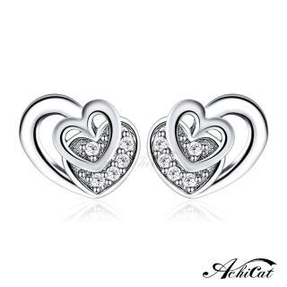 【AchiCat】925純銀耳環 浪漫時光 純銀耳針 GS6015