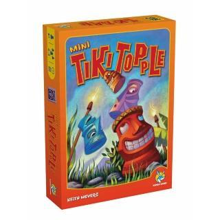 【益智玩具 歐美桌遊】推倒提基迷你版Tiki Topple Mini(中文版)