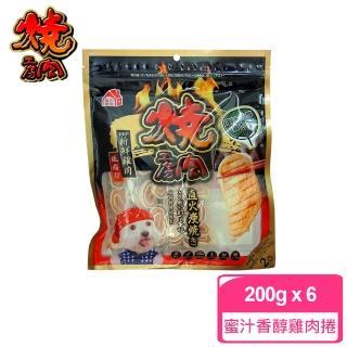 【燒肉工坊/燒肉工房】19-蜜汁香醇雞肉捲100g/2袋入*6包組(D051A19)