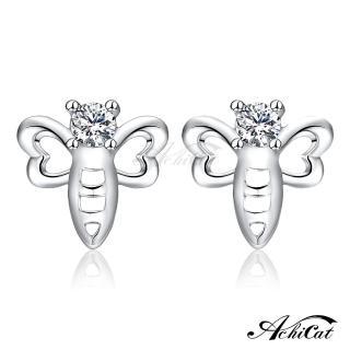 【AchiCat】925純銀耳環 俏皮蜻蜓 純銀耳針 GS6012