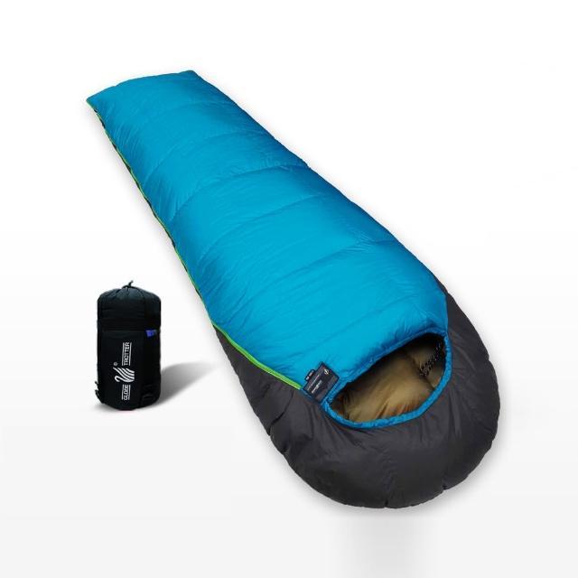 【部落客推薦】MOMO購物網【遊遍天下】MIT台灣製保暖防風防潑水羽絨睡袋(D800_1.5KG_顏色隨機)開箱momo購買