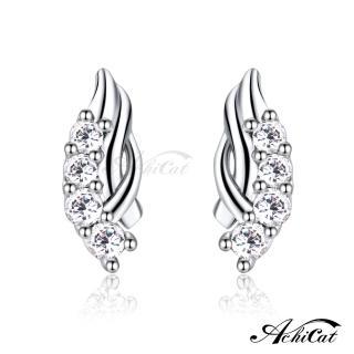 【AchiCat】925純銀耳環 璀璨浪漫 純銀耳針 GS6058