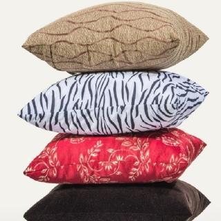 【CLEO】木椅枕/背枕/靠腰枕/抱枕(3入)