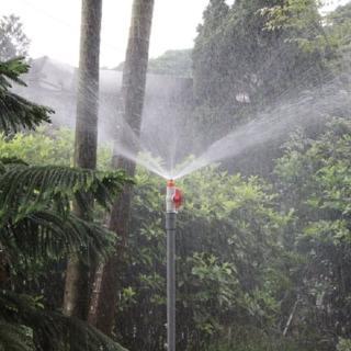 【灑水達人】微霧可調斜射噴頭與20公分腳架6個
