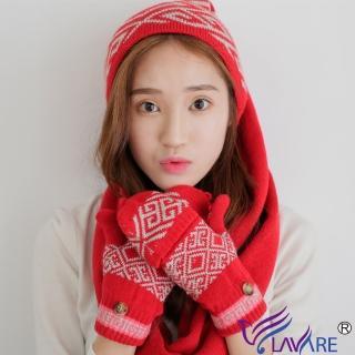 【LAVARE】帽圍 青花瓷紋紅(LAVARE帽圍)