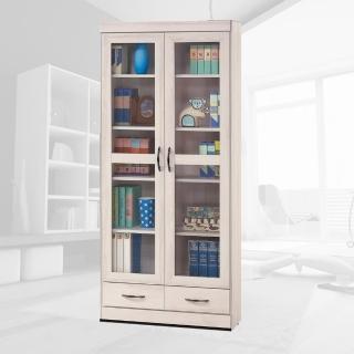 【樂和居】海蘭白栓木2.6尺下抽書櫥櫃