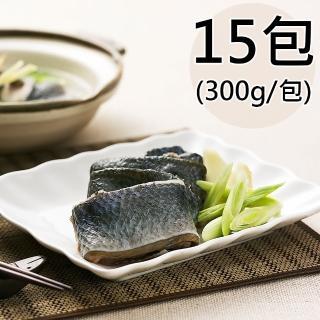 【天和鮮物】無刺帶皮虱目魚條15包(300g/包)