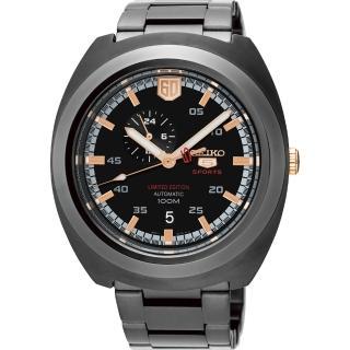 【SEIKO】精工 5號盾牌60週年限定版機械錶-黑/45mm(4R37-01F0KSSA315J1)