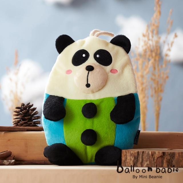 【網購】MOMO購物網【Balloon Babie】熱水袋熱敷袋_紳士熊貓Panda(氣球寶寶)評價momo首頁