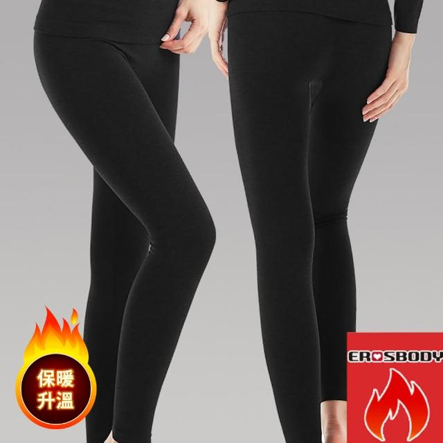 【勸敗】MOMO購物網【EROSBODY】女款日本機能蓄熱保暖發熱褲(黑色)評價好嗎momo地址