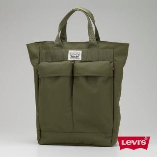 【Levis】男款後背包 / 手提 / 軍綠 / 軍風