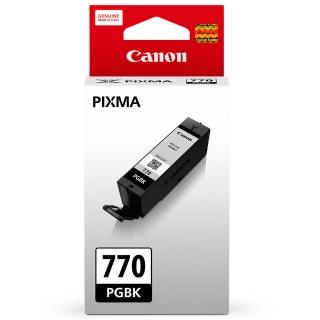 【CANON】PGI-770BK 原廠黑色墨水匣(速達)
