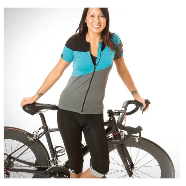 【私心大推】MOMO購物網【MYN】CIRCLE-SEAMLESS JERSEY(短袖女款自行車車衣)推薦momo 500 折價
