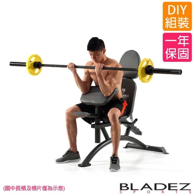 【真心勸敗】MOMO購物網【BLADEZ】BW20-複合式重訓椅 啞鈴訓練 重量訓練 舉重床 啞鈴椅評價怎樣富邦購物台旅遊