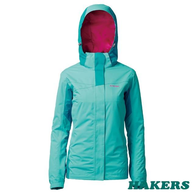 【好物分享】MOMO購物網【HAKERS 哈克士】女 Classic 2L防水外套(孔雀藍/冰河藍)好嗎momo會員中心