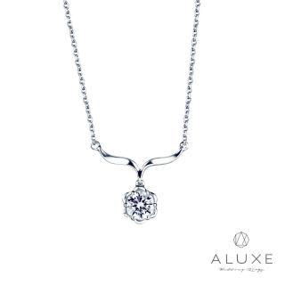 【A-LUXE 亞立詩】0.30克拉FVS2 晚宴美鑽項鍊