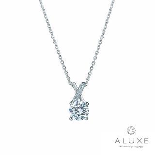 【A-LUXE 亞立詩】0.30克拉FVS2 經典美鑽項鍊