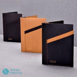 【俬品創意】設計款紙革護照夾