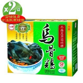 【台糖】冬蟲夏草燉補烏骨雞2入(2.2kg±5%/盒)