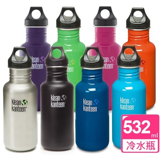 【好物推薦】MOMO購物網【美國Klean Kanteen】不鏽鋼冷水瓶(532ml)去哪買富邦momo購物