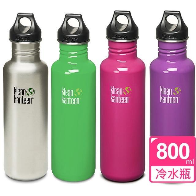 【網購】MOMO購物網【美國Klean Kanteen】不鏽鋼冷水瓶(800ml)去哪買momo 抽折價券