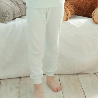 【annypepe】男童舒暖棉長褲款/白&水藍_舒暖棉系列