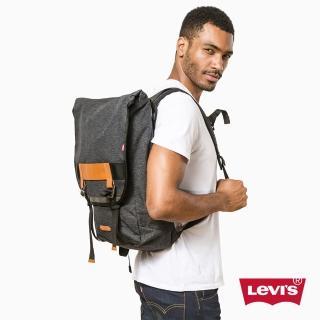 【Levis】男款Commuter/ 後背包 / 手提 / 灰色 - Levis