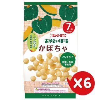 【日本KEWPIE】S-2寶寶果子球-南瓜(9gX6)