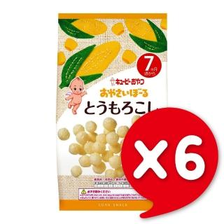 【日本KEWPIE】S-3寶寶果子球-玉蜀黍(9gX6)