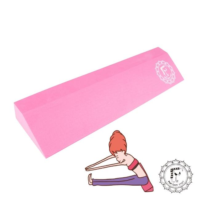 【好物分享】MOMO購物網【Fun Sport Yoga】小瑪吉瑜珈體位輔助斜板/三角斜板 -yoga wedge(瑜珈墊輔具)價錢momo購物旅遊