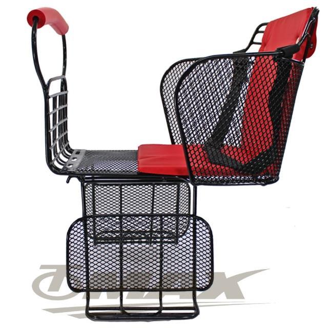 【好物分享】MOMO購物網【鐵馬行】自行車舒適兒童安全後座椅-台製-紅(12H)效果台北富邦 momo