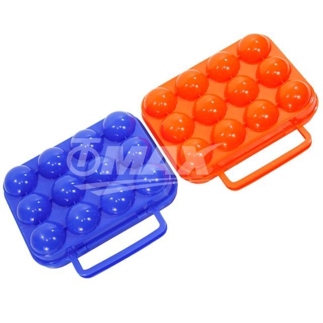 【網購】MOMO購物網【omax】防震攜帶式12格雞蛋盒-2入(隨機出貨)效果momo電視購物台電話