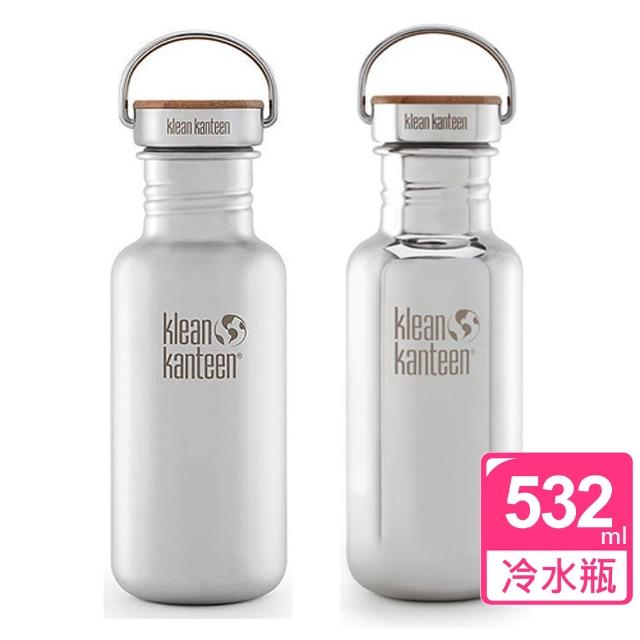【真心勸敗】MOMO購物網【美國Klean Kanteen】竹片鋼蓋冷水瓶(532ml)價格富邦科技