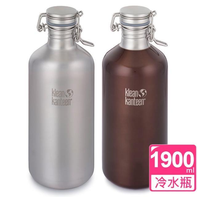 【勸敗】MOMO購物網【美國Klean Kanteen】快扣不鏽鋼冷水瓶(1900ml)評價好嗎momo購物台線上看