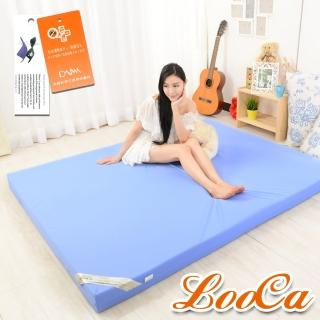 【LooCa】抗菌防蹣防水10cm彈力記憶床墊(單3尺)