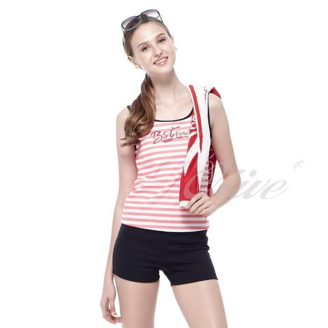 【真心勸敗】MOMO購物網【沙兒斯】時尚亮彩條紋款二件式泳裝(NO.B92268)好嗎momo購物