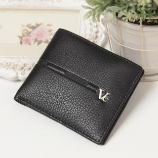 【Ve vitalise】進口休閒短夾(黑色)