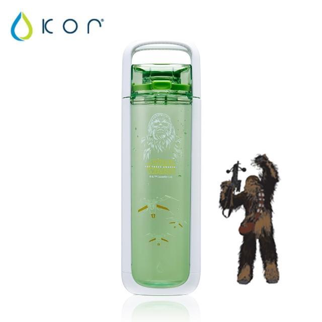 【美國KOR water】One星戰立體momo拍賣水瓶750ml(丘巴卡/綠色)