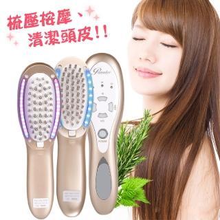 【沛莉緹Panatec】光學健髮梳(K-560)