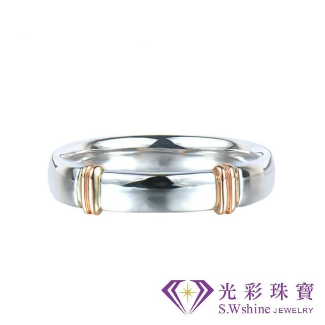 【光彩珠寶oris 開箱】婚戒 日本鉑金結婚戒指 男戒(玫瑰金戀人)