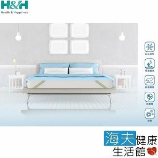 【南良H&H】冰舒清透涼感墊(雙人152x188cm)