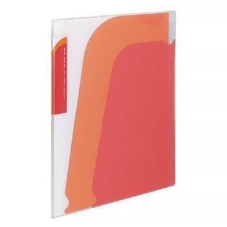 【KOKUYO】Novita 5層檔案資料夾-附夾鍊袋(紅)