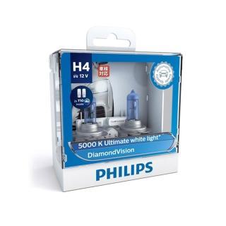 【PHILIPS飛利浦】車燈 5000K藍鑽之光DiamondVision-H11(公司貨)
