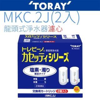 【東麗TORAY】濾心(MKC.2J2入 日本原裝)
